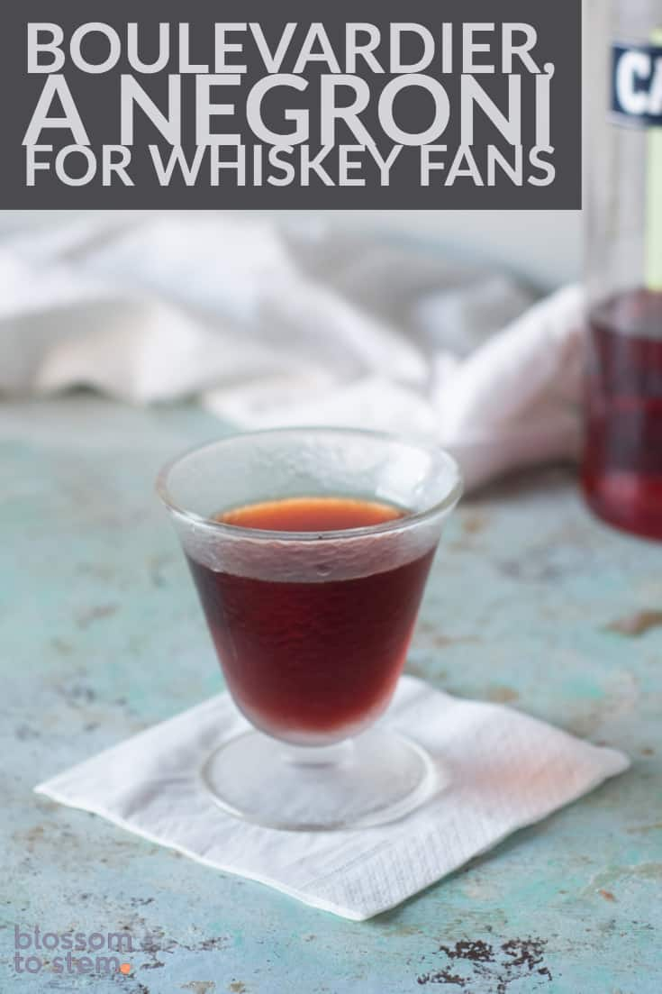 Boulevardier, a Negroni for Whiskey Fans