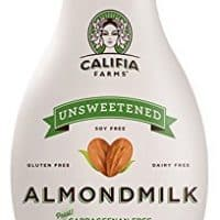 CALIFIA FARMS ALMONDMILK UNSWEETENED 48 OZ PACK OF 2