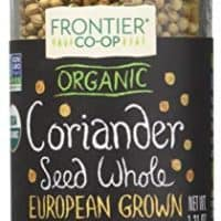 Frontier Natural Products Coriander Seed, Og, Whole, 1.12-Ounce