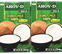 Aroy-d Coconut Milk 100%, 8.5 Oz