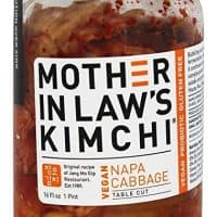 Mother In Law's - Kimchi Vegan Napa Cabbage Table Cut - 16 oz.