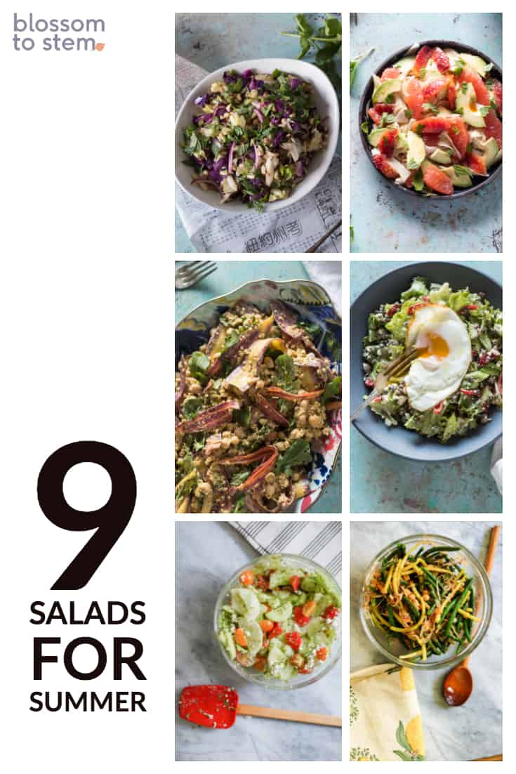 9 Salads for Summer
