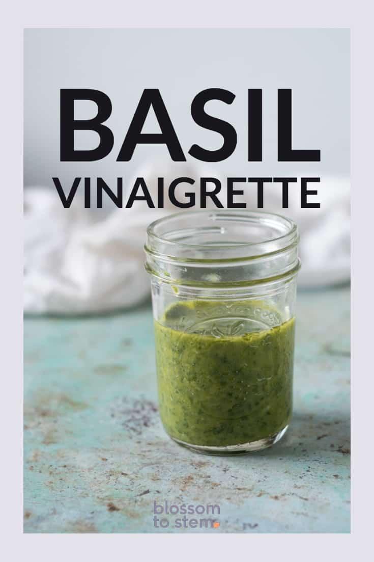 Basil Vinaigrette