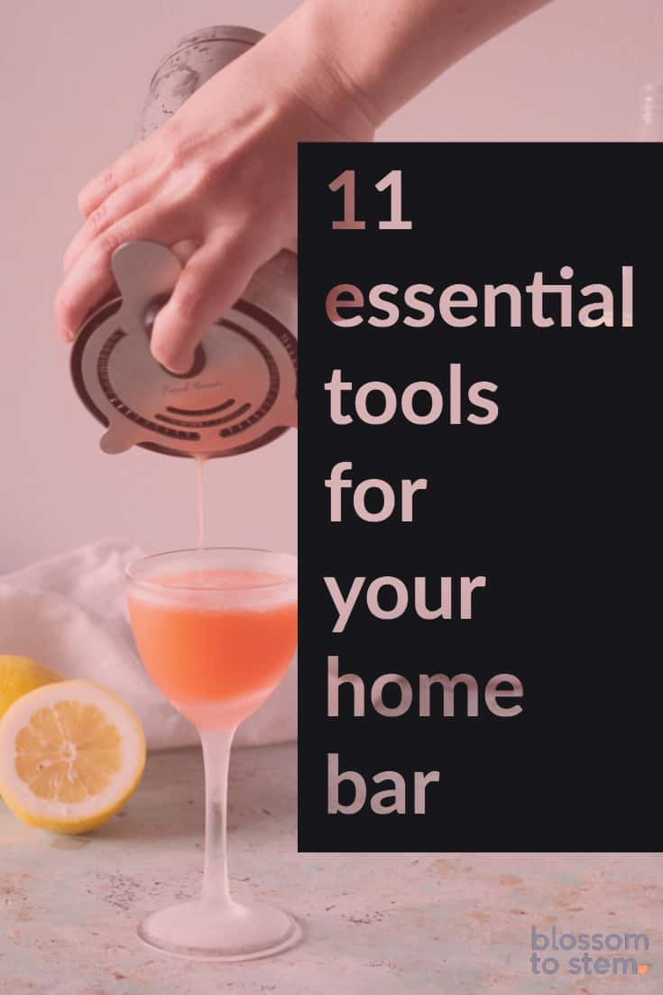 11 Essential tool for your home bar