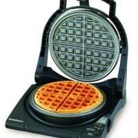 Chef'sChoice 840B WafflePro Taste/Texture Select Nonstick Classic Belgian Waffle Maker