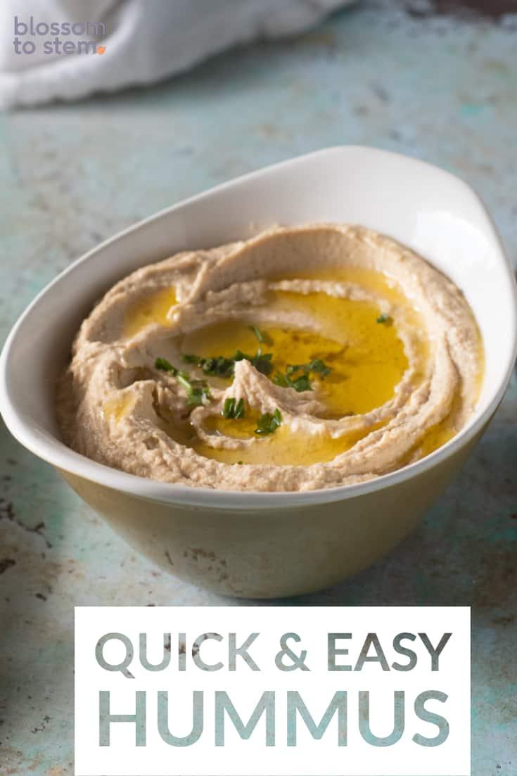 Quick & Easy Hummus