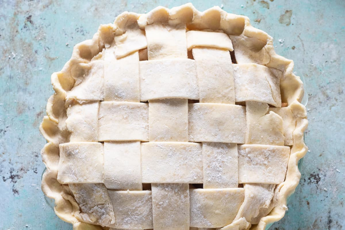 Lattice-top Pie Crust