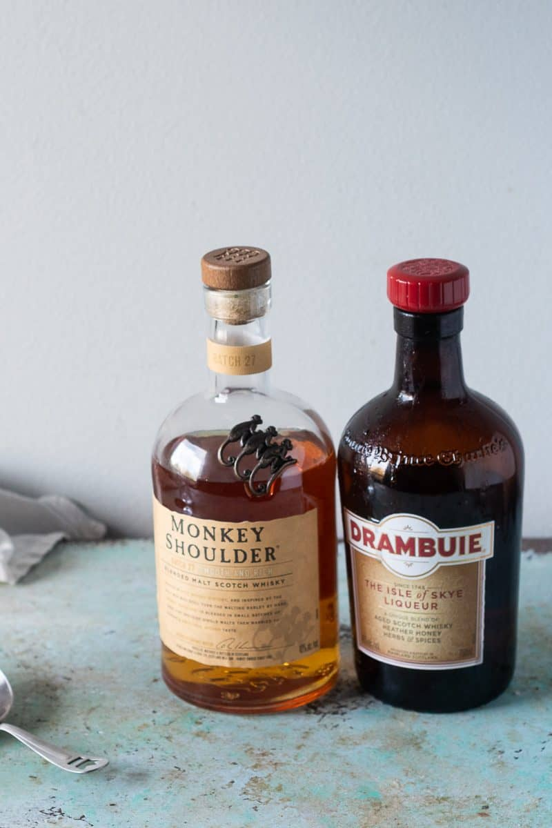 Monkey Shoulder Scotch and Drambuie