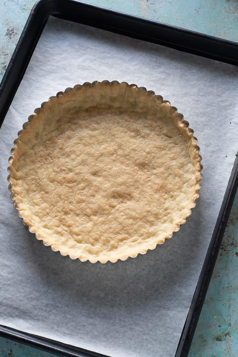 Easy Shortbread Tart Crust