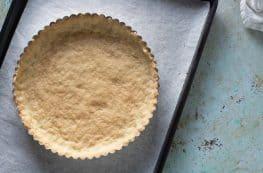 Easy Shortbread Tart Crust