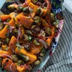 Butternut Squash and Brussels Sprouts in Agrodolce