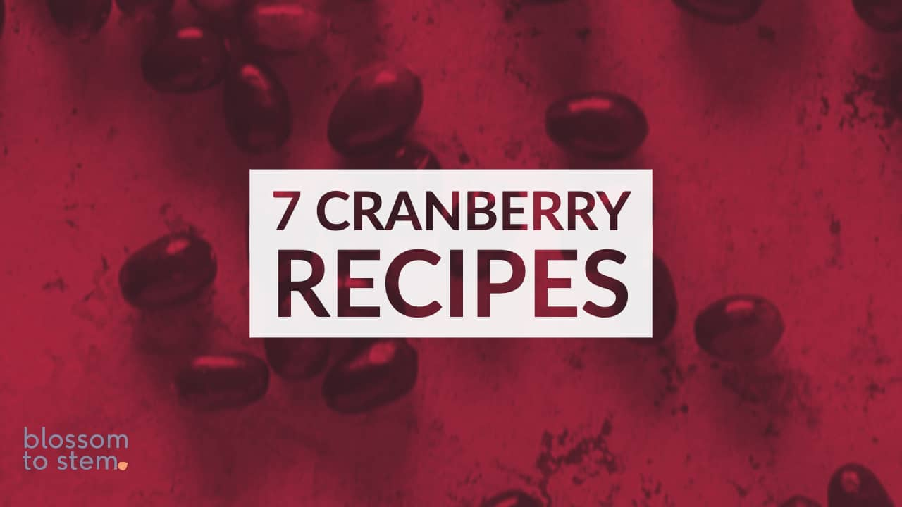 7 Cranberry Recipes