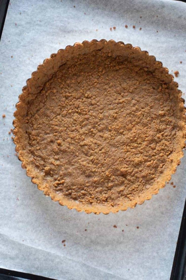 Gingersnap Tart Crust