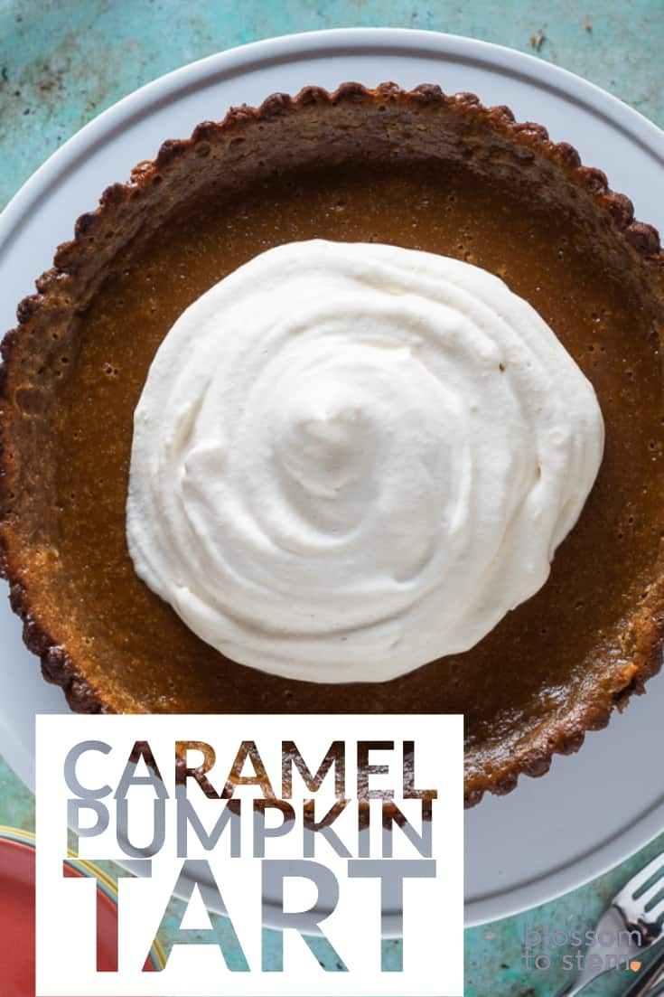 Caramel Pumpkin Tart