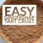 Easy Gingersnap Tart Crust