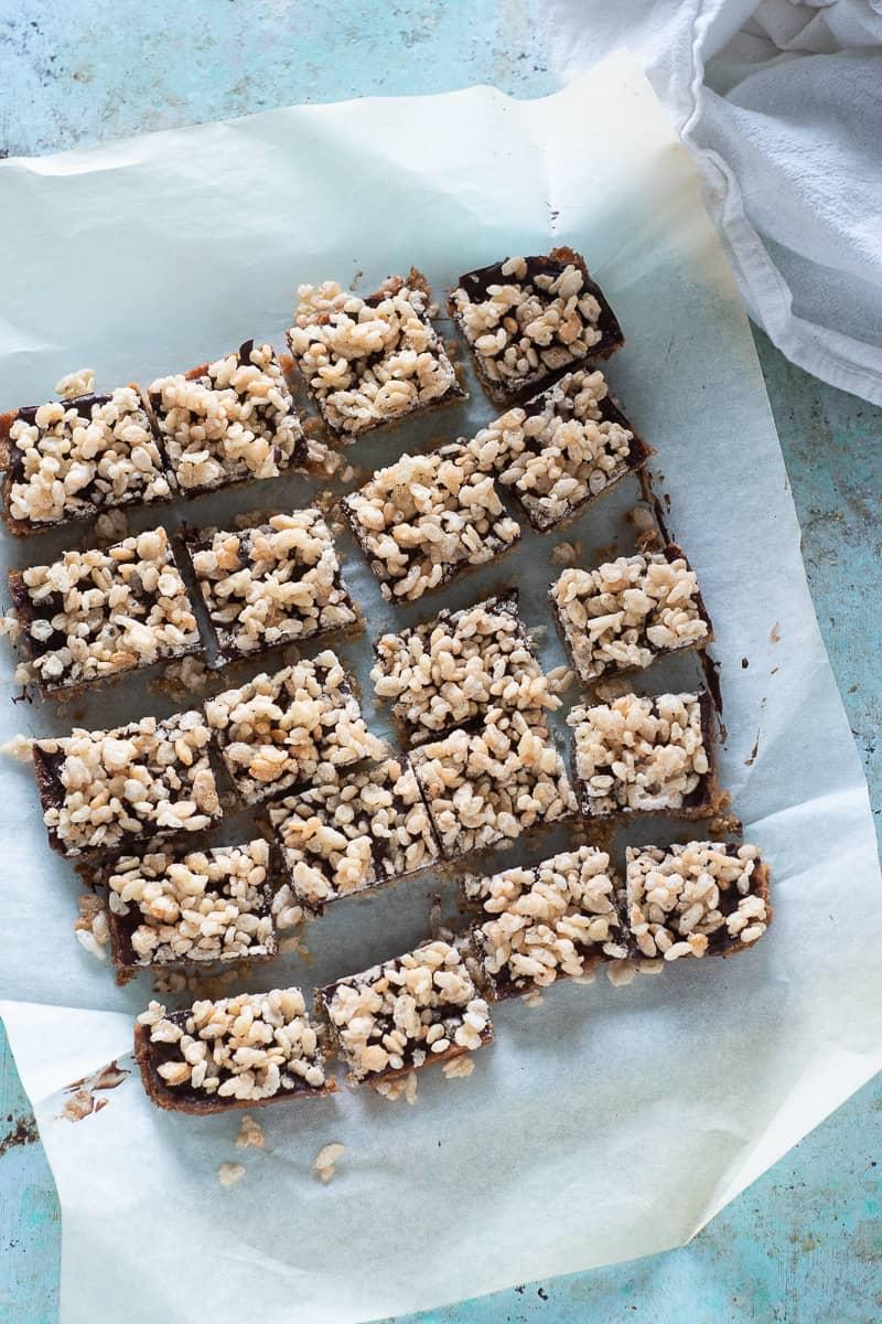 Crispy-Topped Brown Sugar Bars
