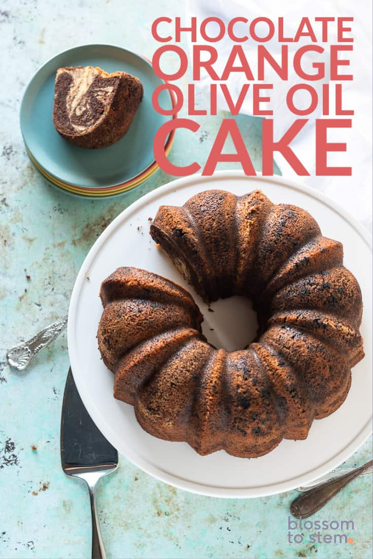 Chocolate Orange Olive Oil Cake