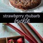 Strawberry Rhubarb Buckle
