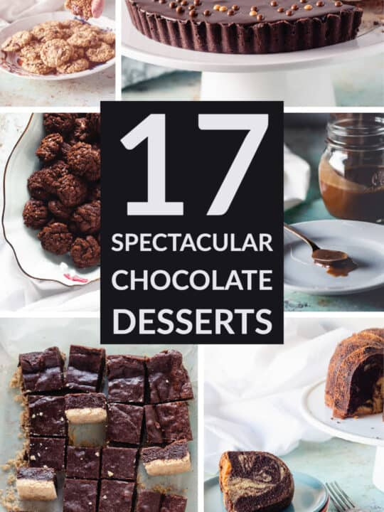 17 Spectacular Chocolate Desserts