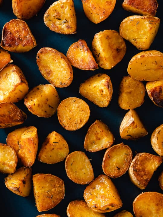 Crispy oven roasted potatoes