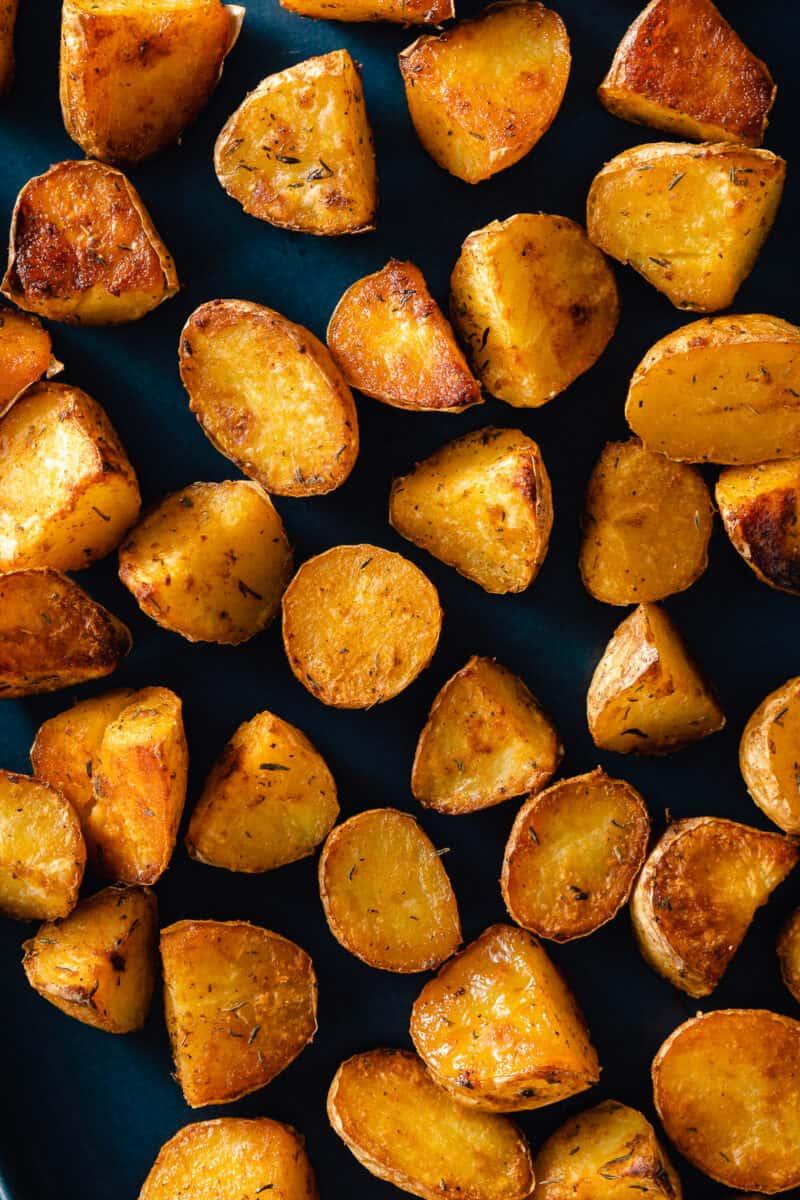 Crispy oven roasted potatoes