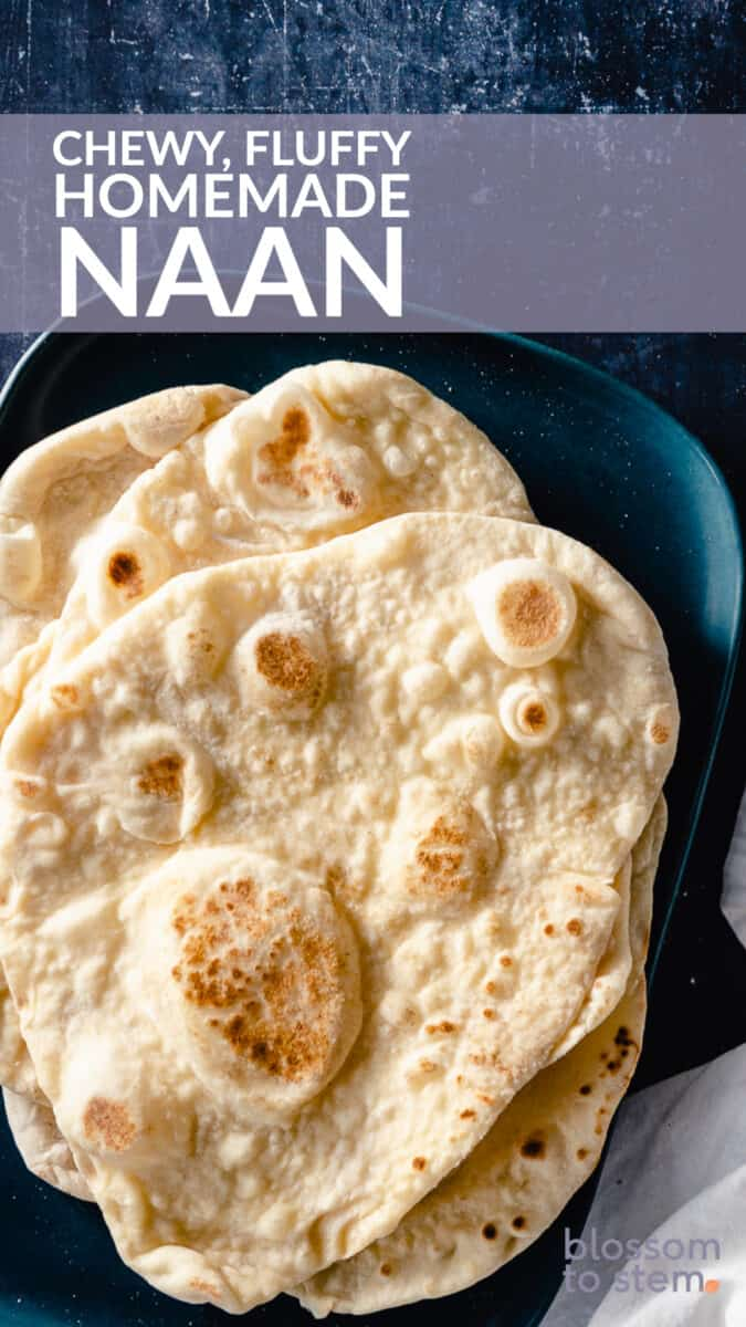 Chewy, Fluffy Homemade Naan