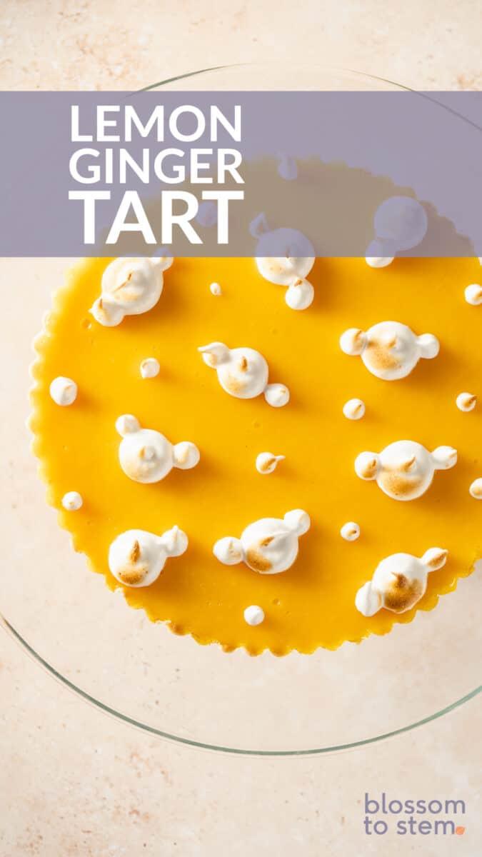 Lemon Ginger Tart